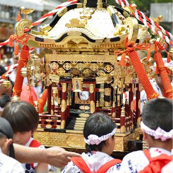 横浜市での祭り 画像